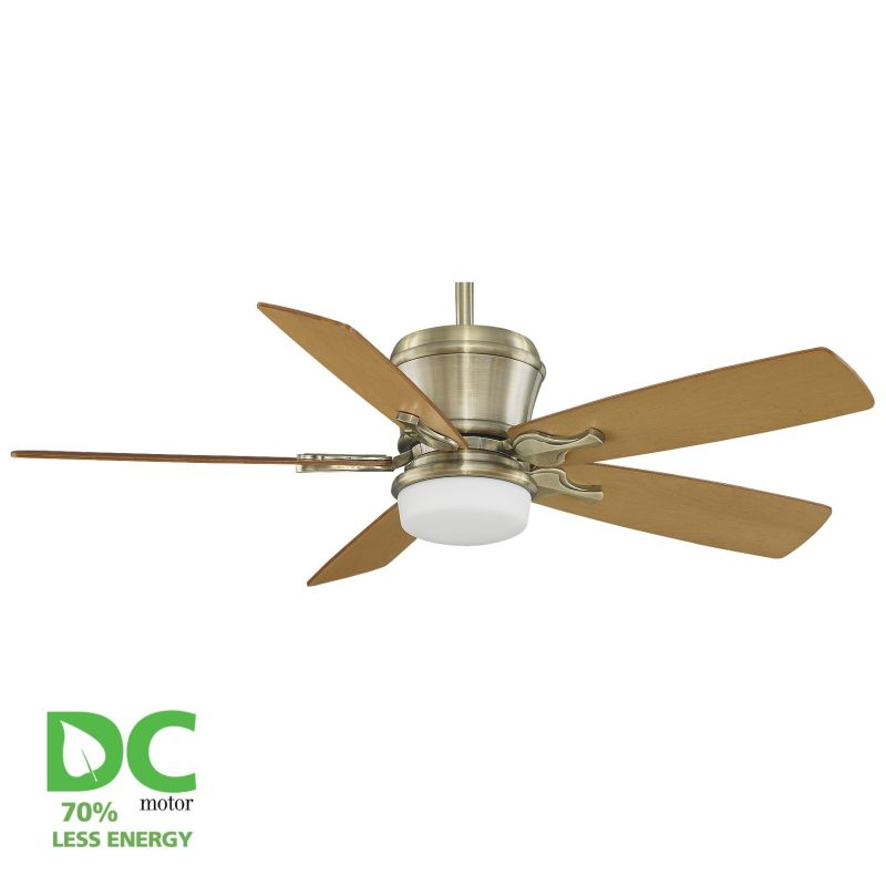 "Fanimation MAD3260-B5133MOMP Sandella 52"" 5 Blade DC Ceiling Fan -"