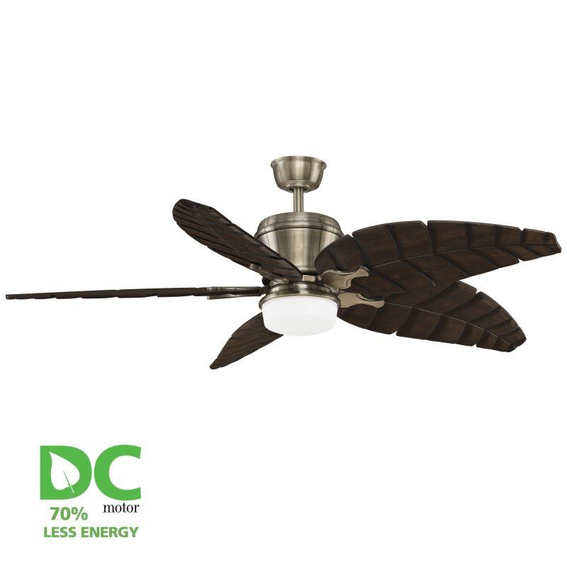"""Fanimation MAD3260-B5350WA Sandella 60"""" 5 Blade DC Ceiling Fan -"""