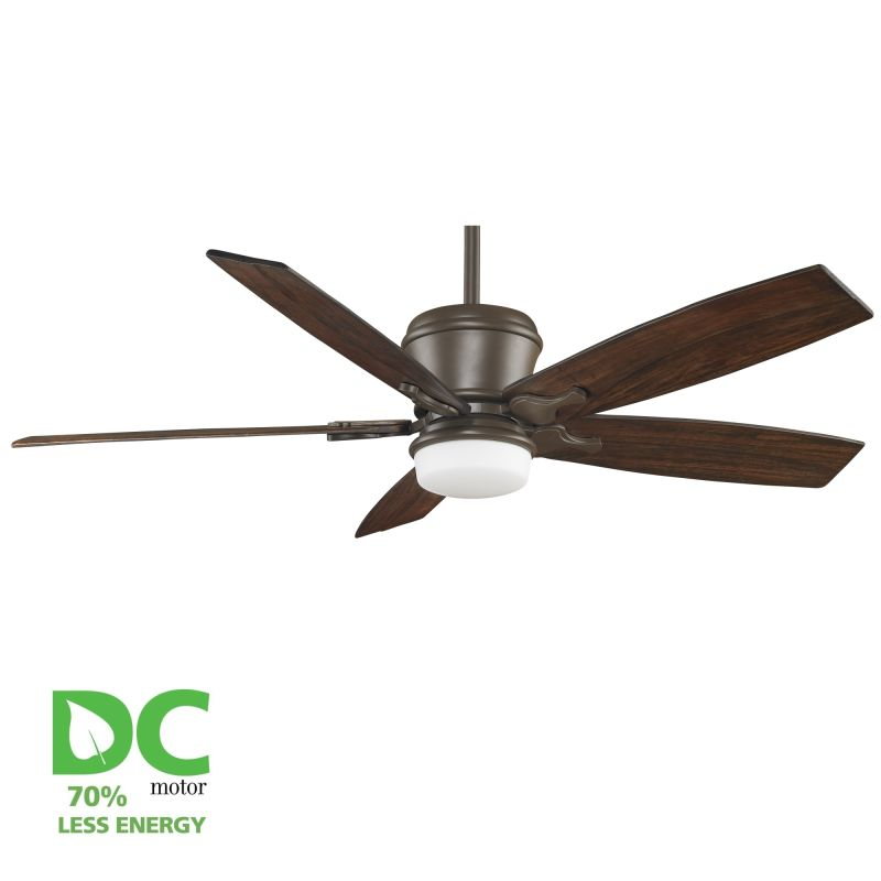 "Fanimation MAD3260-B6130WA Sandella 60"" 5 Blade DC Ceiling Fan -"