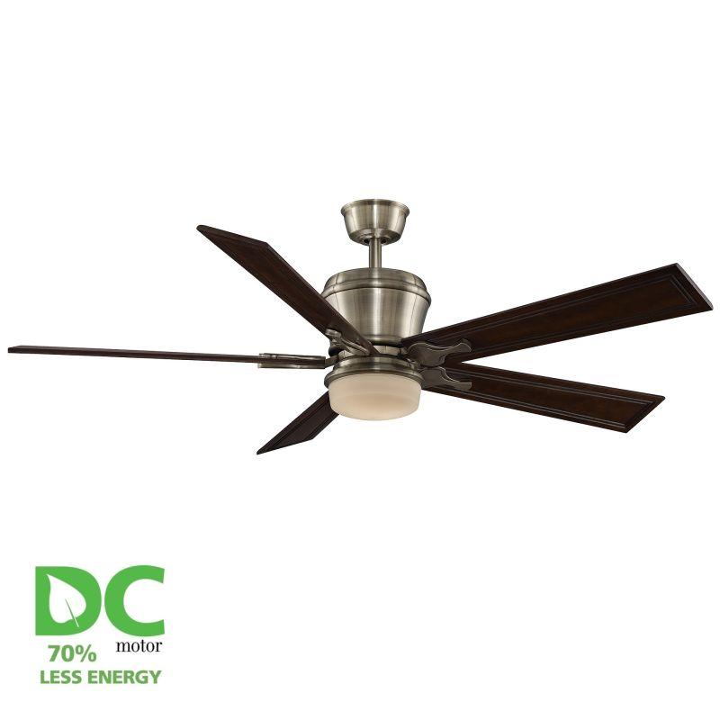 """Fanimation MAD3260-B6132DC Sandella 60"""" 5 Blade DC Ceiling Fan - Dark"""