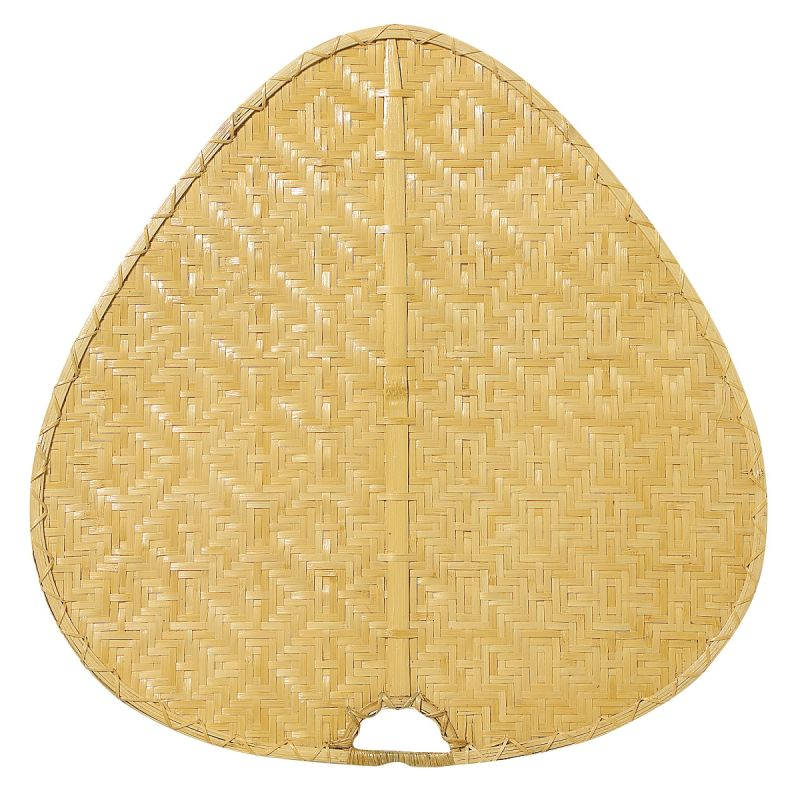 "Fanimation PUD1 22"" Wide Oval Bamboo Blade for Punkah Fans Tan Ceiling"