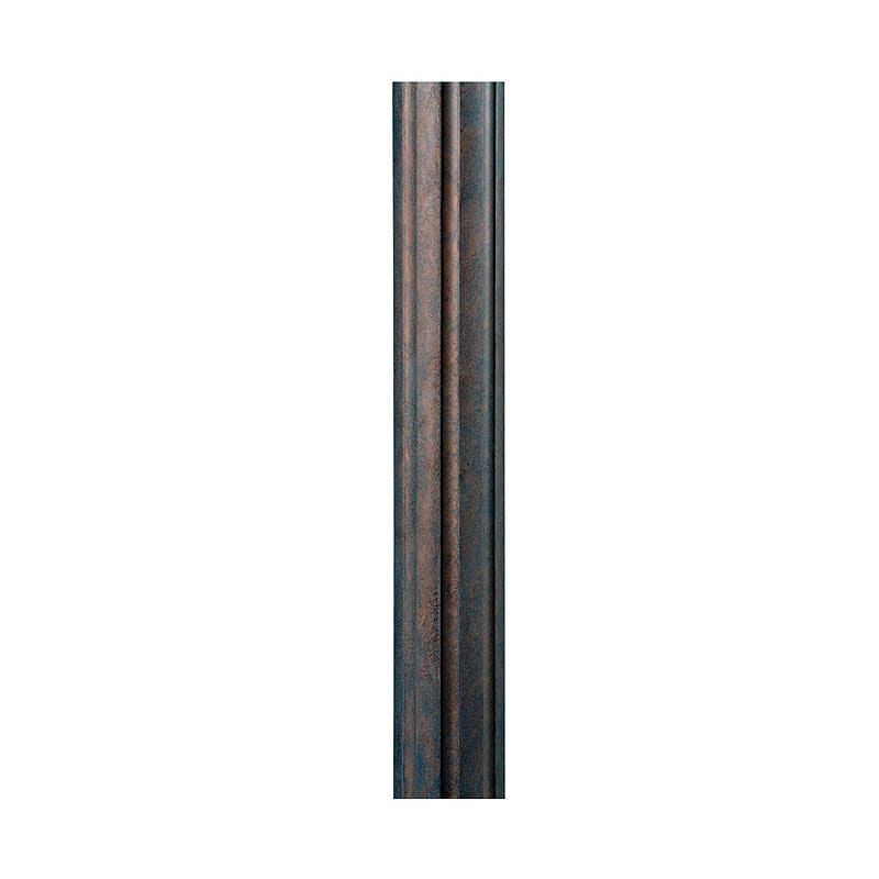 Feiss 7POST 7 Foot Direct Burial Post Weathered Patina Outdoor