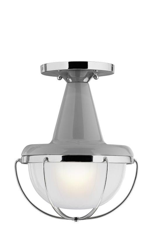 Feiss FM402 Livingston 1 Light Flush Mount Ceiling Fixture High Gloss Sale $55.00 ITEM#: 3007584 MODEL# :FM402HGG/PN :
