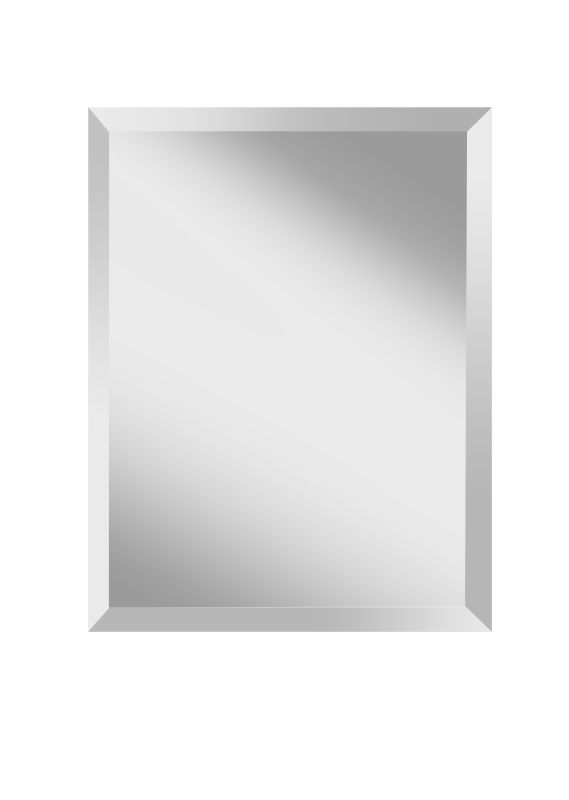 "Feiss MR1152 Infinity 28"" Height x 22"" Width Rectangular Mirror Clear Sale $113.00 ITEM#: 3007654 MODEL# :MR1152 :"