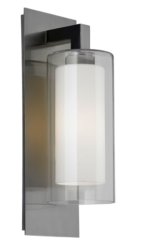 "Feiss OL13001 Salinger 20"" Height 1 Light Outdoor Wall Sconce Brushed Sale $307.00 ITEM#: 3007787 MODEL# :OL13001BS :"