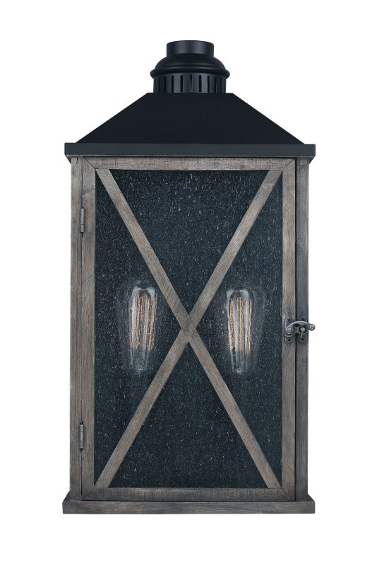 "Feiss OL17004 Lumiere 19"" Height 2 Light Outdoor Wall Sconce Dark Sale $399.00 ITEM#: 3007795 MODEL# :OL17004DWO/ORB :"