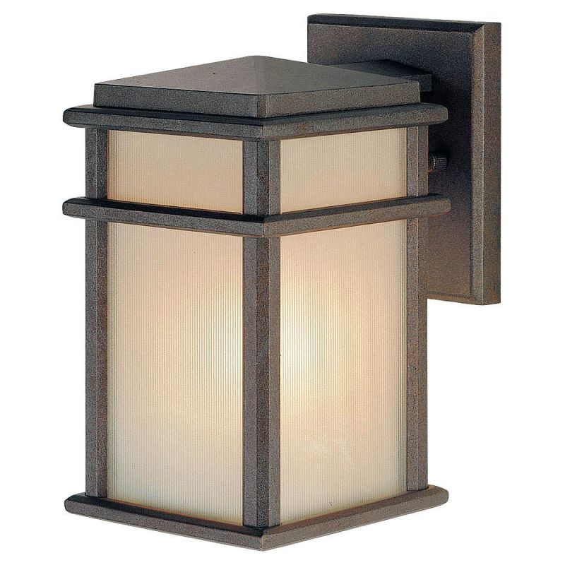 Feiss OL3400-LED Mission Lodge 1 Light LED Outdoor Wall Sconce