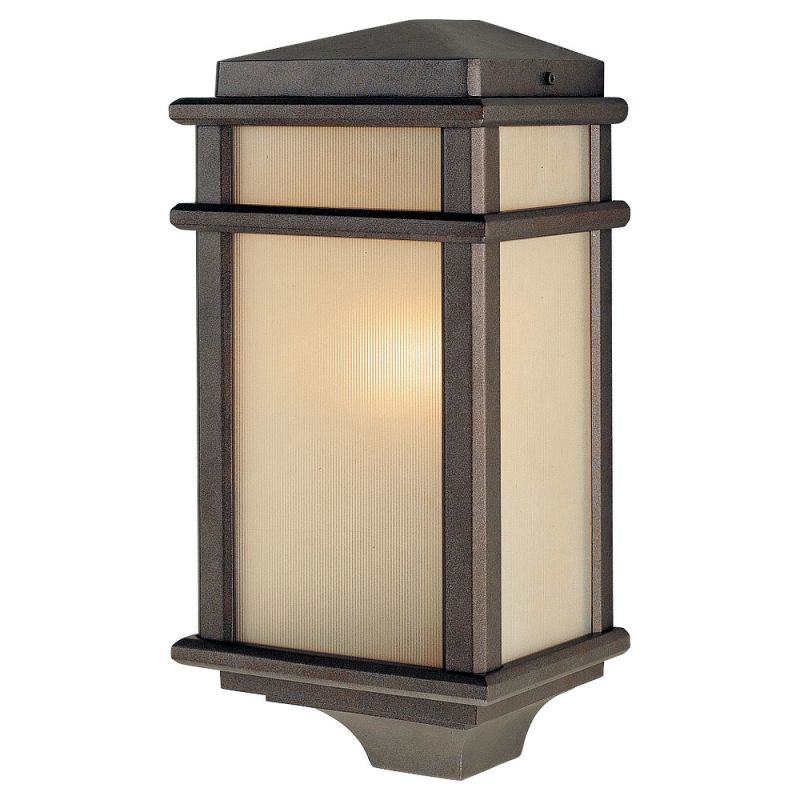 Feiss OL3403-LED Mission Lodge 1 Light LED Outdoor Wall Sconce