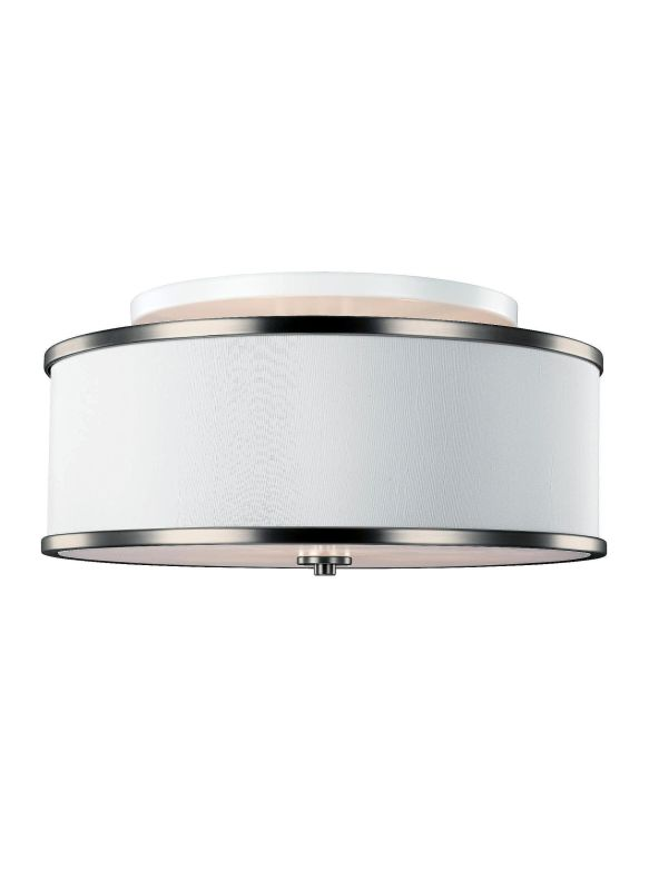 "Feiss SF339 Lennon 3 Light 20"" Wide Semi-Flush Ceiling Fixture with"