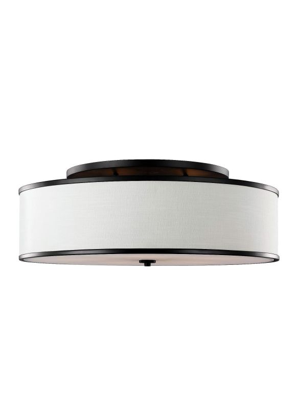 "Feiss SF340 Lennon 5 Light 31"" Wide Semi-Flush Ceiling Fixture with"