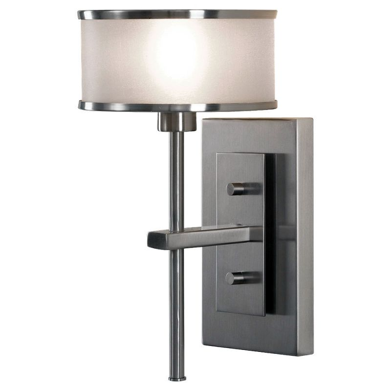 Feiss WB1378 Casual Luxury 1 Light Reversible Wall Sconce Brushed
