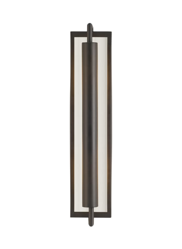 Feiss WB1452 Mila 2 Light Reversible Wall Sconce Oil Rubbed Bronze