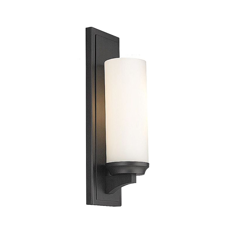 Feiss WB1723 Amalia 1 Light Reversible Wall Sconce Oil Rubbed Bronze