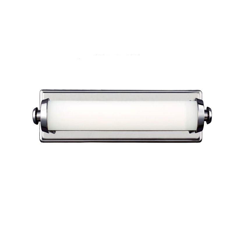 Feiss WB1749 Edgebrook 1 Light LED ADA Compliant Bath Bar Polished Sale $186.15 ITEM#: 3008605 MODEL# :WB1749PN :