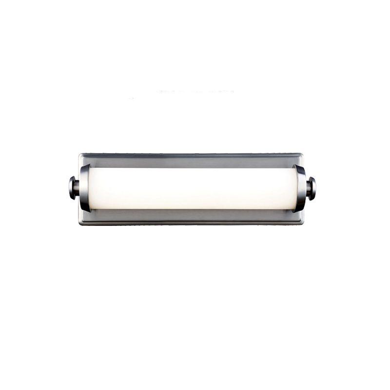 Feiss WB1749 Edgebrook 1 Light LED ADA Compliant Bath Bar Satin Nickel Sale $186.15 ITEM#: 3008606 MODEL# :WB1749SN :