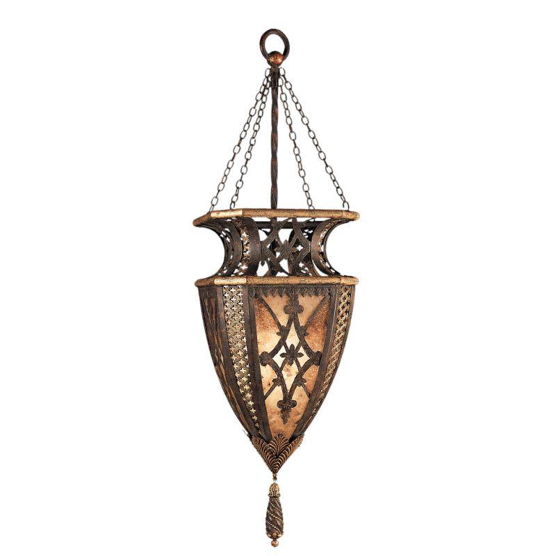 """Fine Art Lamps 155749ST Villa 1919 16"""" Diameter Single-Light Foyer"""
