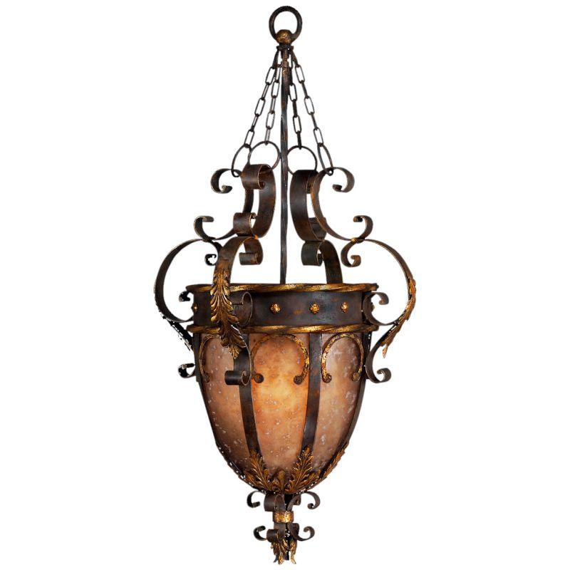 """Fine Art Lamps 219142ST Castile 22"""" Diameter Three-Light Urn Foyer"""