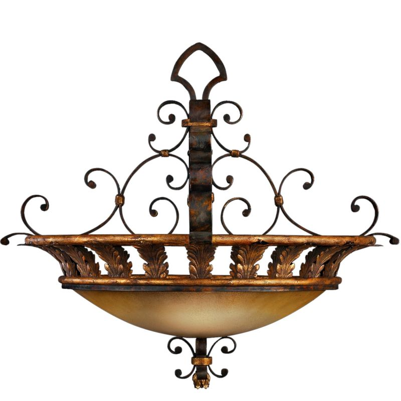 "Fine Art Lamps 219742ST Castile 29"" Diameter Three-Light Bowl Pendant Sale $3328.50 ITEM#: 2257975 MODEL# :219742ST :"