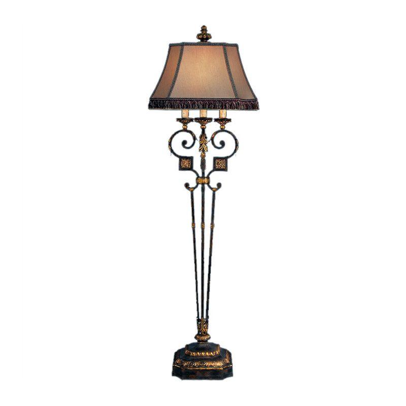 Fine Art Lamps 230920ST Castile Single-Light Floor Lamp with 3-Way