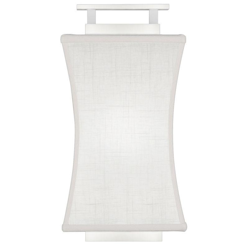 Fine Art Lamps 232850-5ST Black+White Story Single-Light Wall Sconce