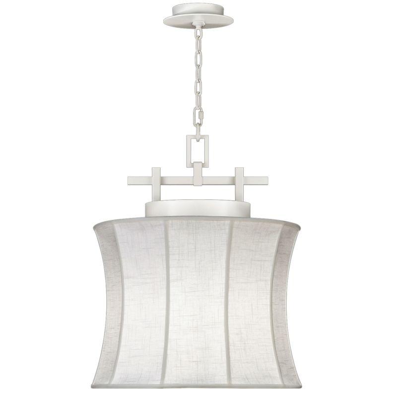 """Fine Art Lamps 233449-5ST Black+White Story 19"""" Diameter Single-Light"""