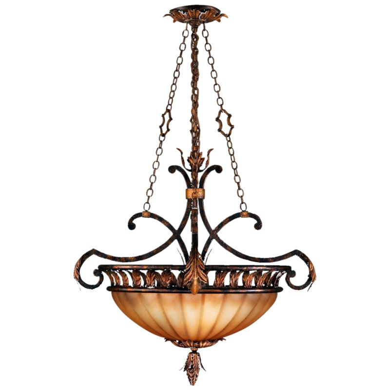 "Fine Art Lamps 303840ST Brighton Pavillion 24"" Diameter Three-Light"