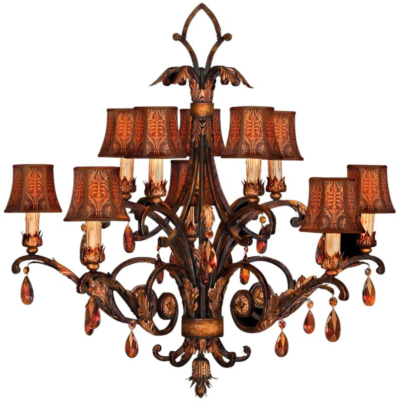 Fine Art Lamps 303940ST Brighton Pavillion Ten-Light Two-Tier Sale $7308.00 ITEM#: 2258030 MODEL# :303940ST :