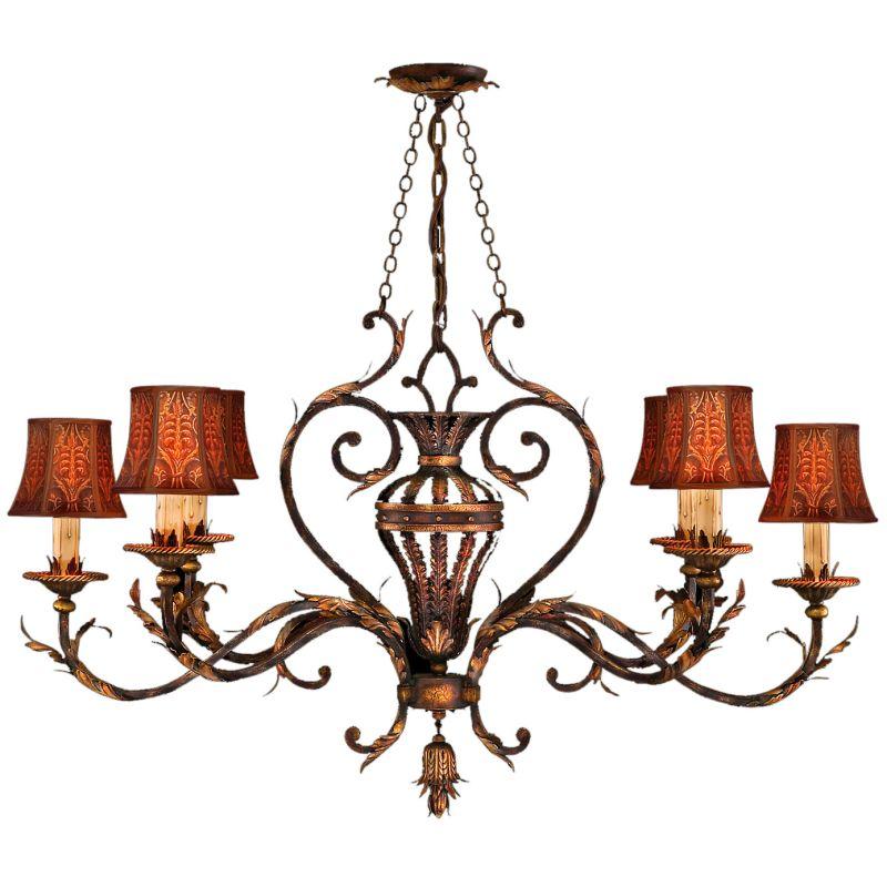 Fine Art Lamps 304640ST Brighton Pavillion Six-Light Single-Tier Sale $5523.00 ITEM#: 2258035 MODEL# :304640ST :