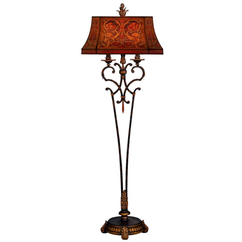 Fine Art Lamps 305520ST Brighton Pavillion Two-Light Floor Lamp with