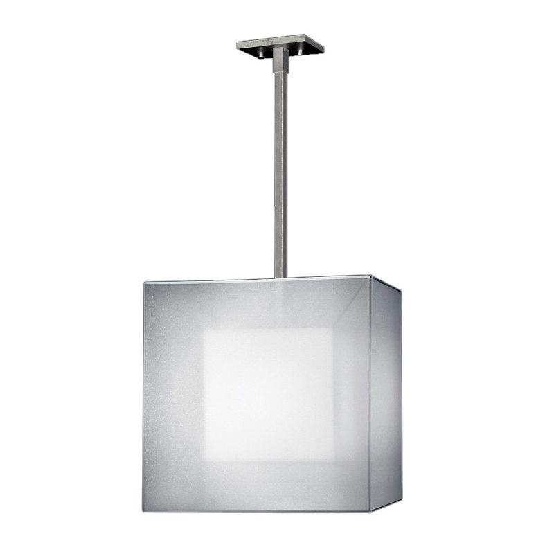 "Fine Art Lamps 330640-2ST Quadralli Silver 18"" Diameter Single-Light"