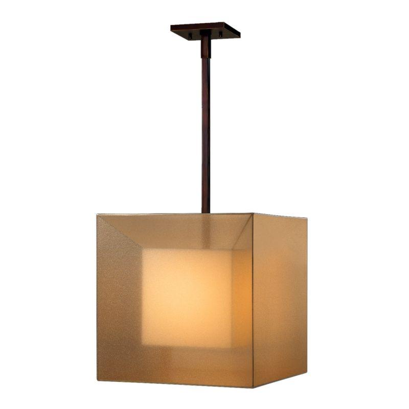 "Fine Art Lamps 330640ST Quadralli 18"" Diameter Single-Light Pendant"