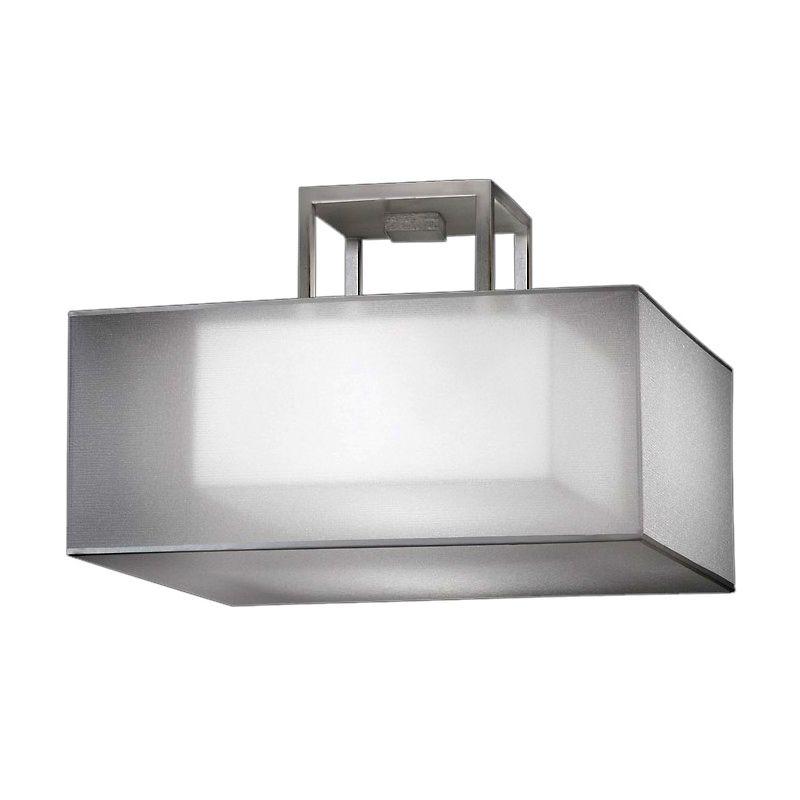 "Fine Art Lamps 330740-2ST Quadralli Silver 17"" Diameter Two-Light"