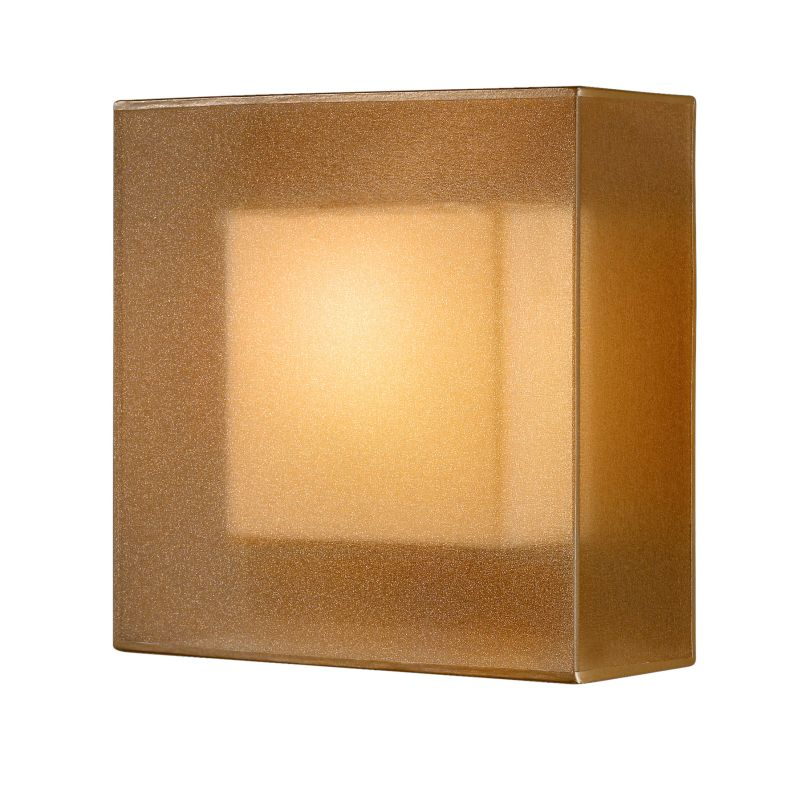 Fine Art Lamps 330950ST Quadralli Single-Light Wall Sconce with Golden