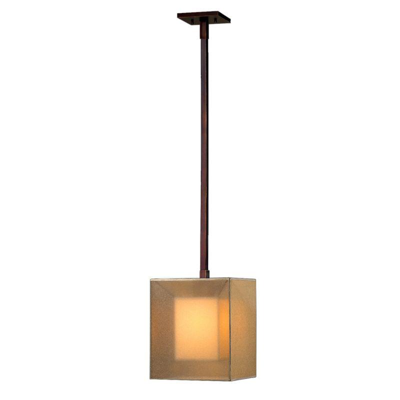 "Fine Art Lamps 331040ST Quadralli 7"" Diameter Single-Light Mini"