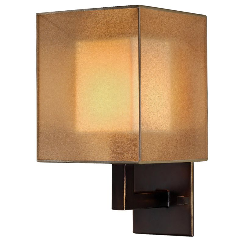 Fine Art Lamps 331150ST Quadralli Single-Light Wall Sconce with Golden