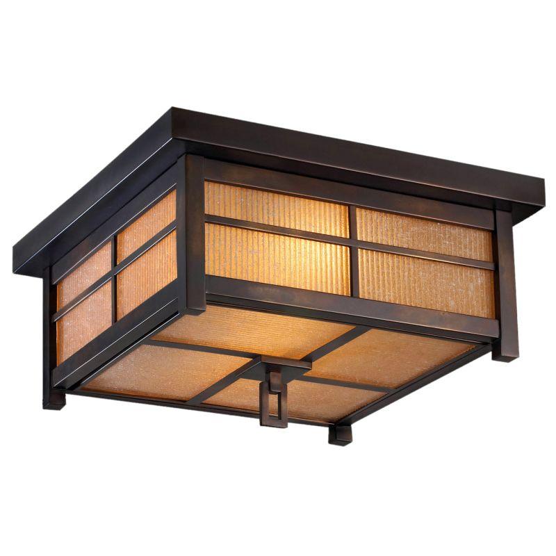 "Fine Art Lamps 401080ST Capistrano 17"" Diameter Two-Light Outdoor"