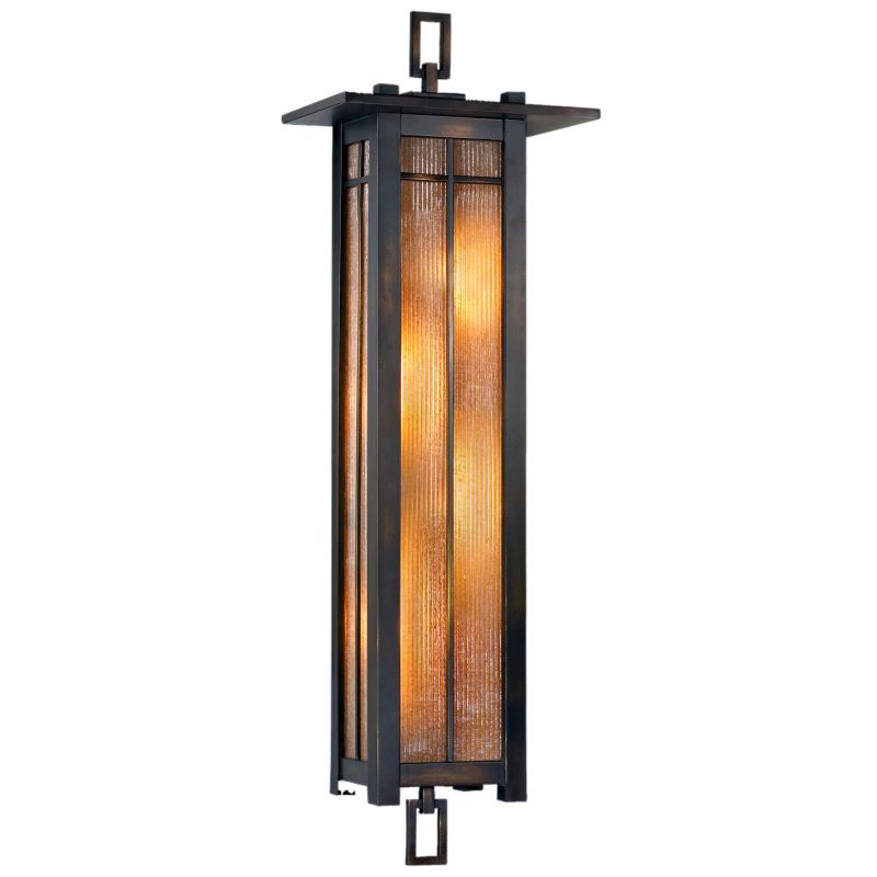 Fine Art Lamps 401681ST Capistrano Four-Light Outdoor Wall Sconce Warm