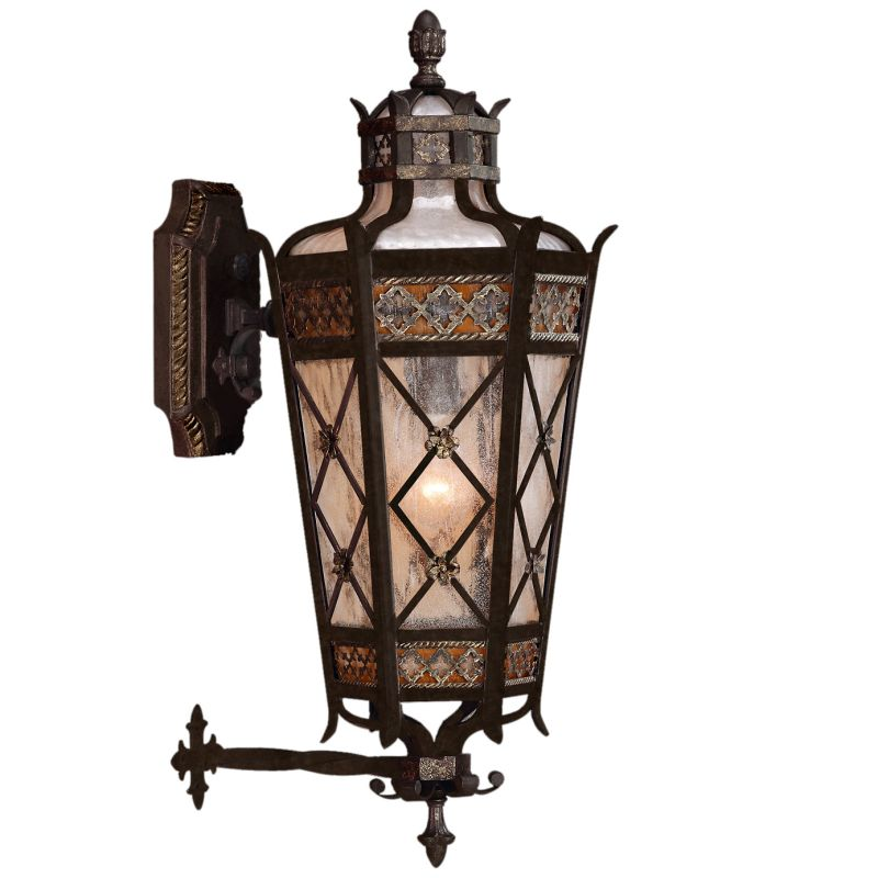 Fine Art Lamps 403481ST Chateau Outdoor Four-Light Outdoor Wall Sconce