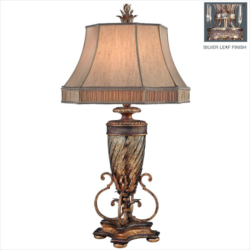 Fine Art Lamps 411310ST Pastiche Single-Light Table Lamp with 3-Way