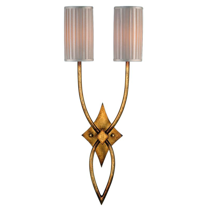 Fine Art Lamps 418850ST Portobello Road Two-Light Wall Sconce with