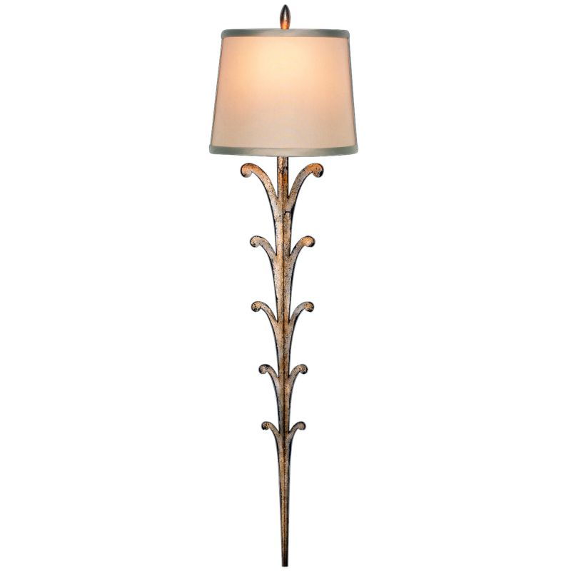 Fine Art Lamps 420650ST Portobello Road Single-Light Wall Sconce with