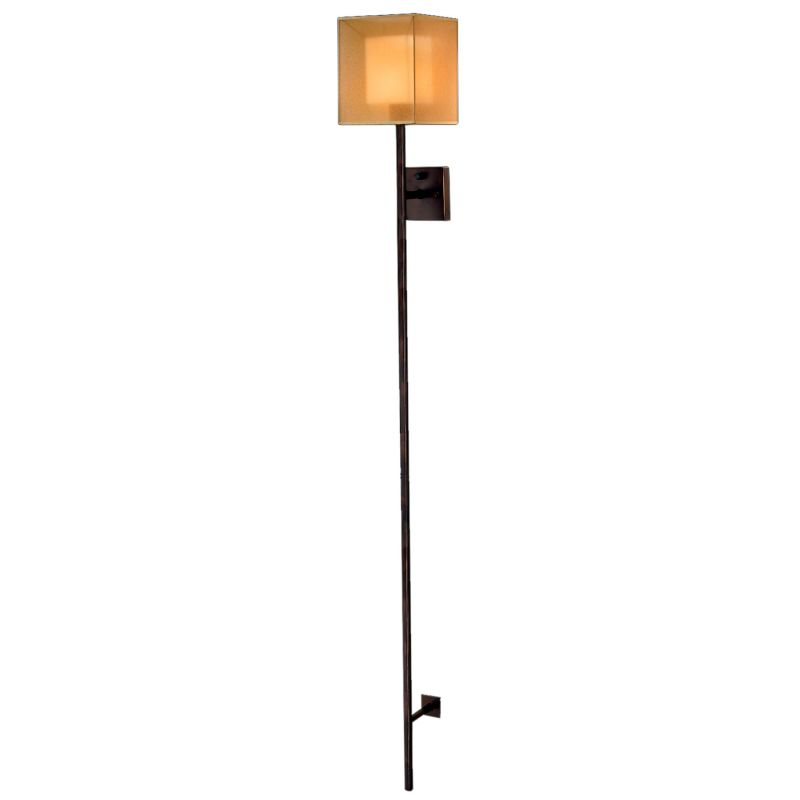 Fine Art Lamps 427250ST Quadralli Single-Light Wall Sconce with Golden