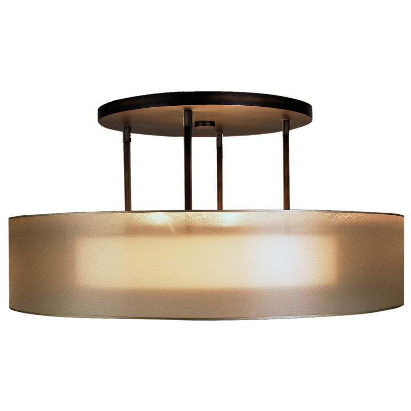 "Fine Art Lamps 435940ST Quadralli 48"" Diameter Three-Light Semi-Flush"