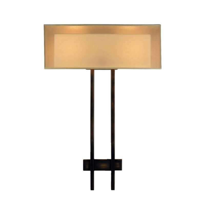 Fine Art Lamps 436450ST Quadralli Two-Light Wall Sconce with Golden