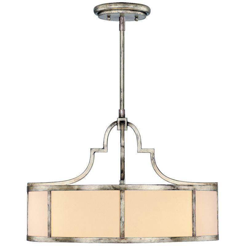 """Fine Art Lamps 438540ST Portobello Road 24"""" Diameter Three-Light Drum"""