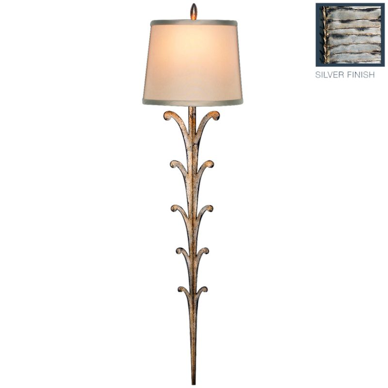 Fine Art Lamps 439450ST Portobello Road Single-Light Wall Sconce with