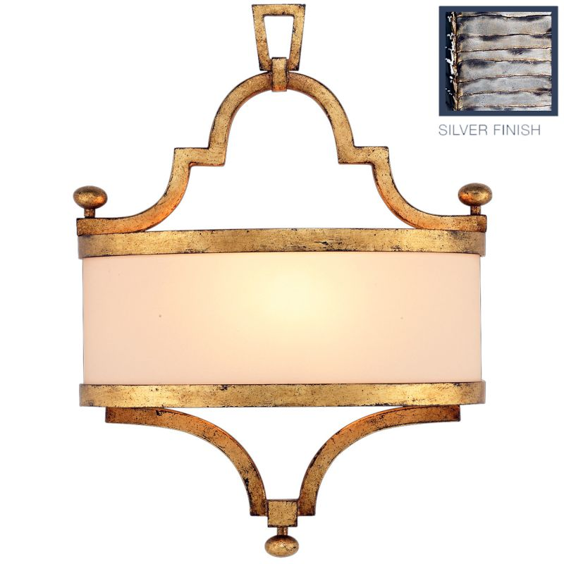 Fine Art Lamps 440250ST Portobello Road Single-Light Wall Sconce with