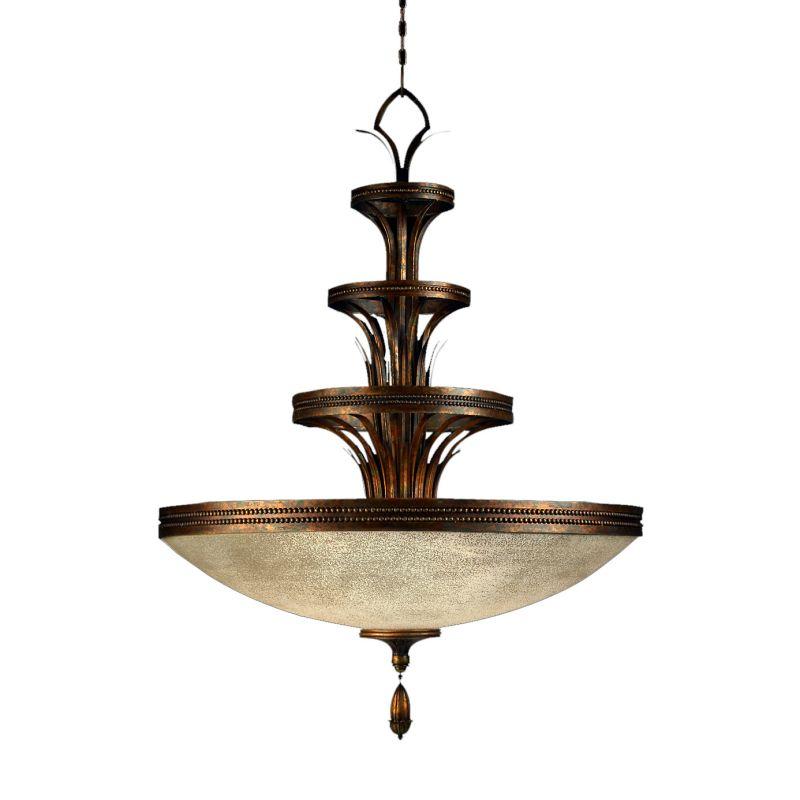 "Fine Art Lamps 523940ST Fontana Bella 31"" Diameter Three-Light Bowl"