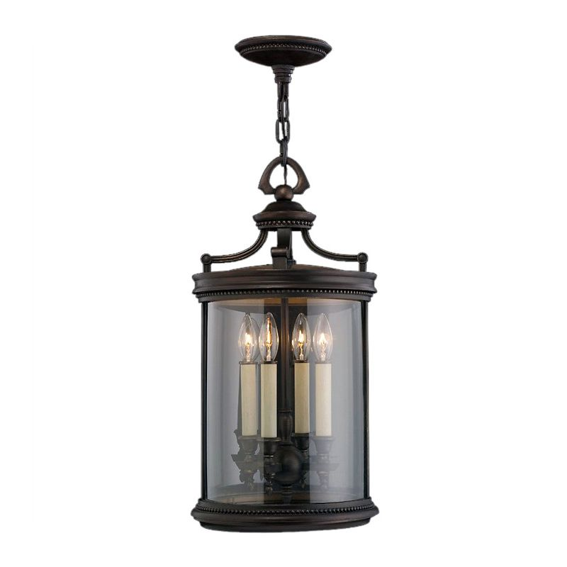 Fine Art Lamps 538282ST Louvre Four-Light Outdoor Pendant with