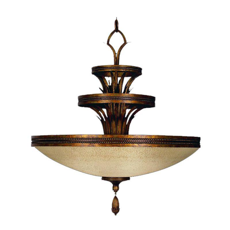 "Fine Art Lamps 548640ST Fontana Bella 31"" Diameter Three-Light Bowl"